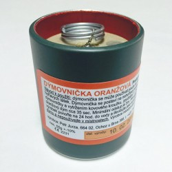 Smoke Grenade Orange D70 Wire Pull